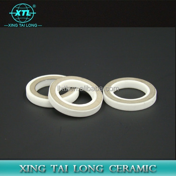 Ceramic Ring Tubes With Metallization For Feed-through Insulators
