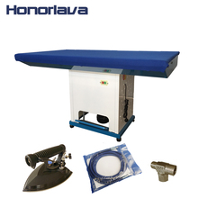 Industrial Laundry Vacuum Steam Press Ironing Table