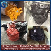 For Komatsu Excavator PC150-3 Swing Motor Swing Motor Assy with Swing Reduction Gearbox PC200-6/7/8 PC300-6/7/8