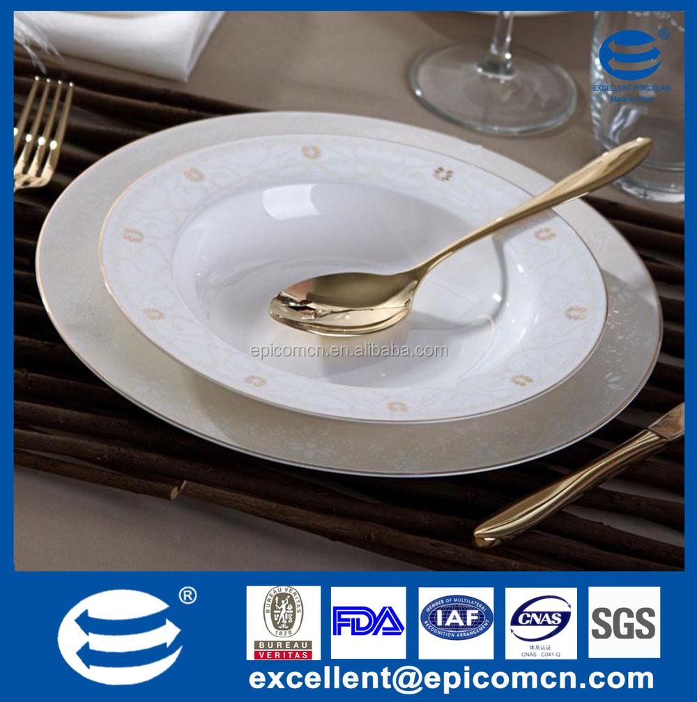 Wholesale Bone China Gold Rimmed Dinner Plates Wholesale Gold Rimmed China D