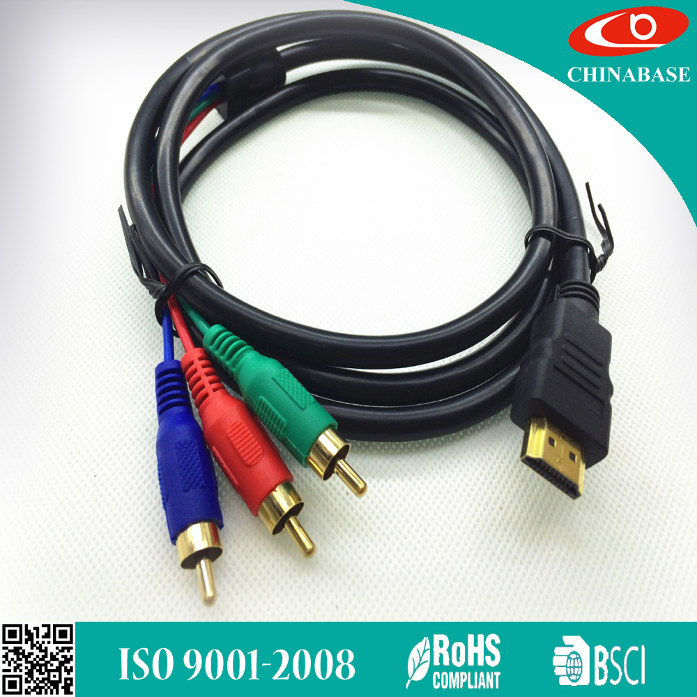 hdmi cable converter to rca cable HDMI to 3rca cable