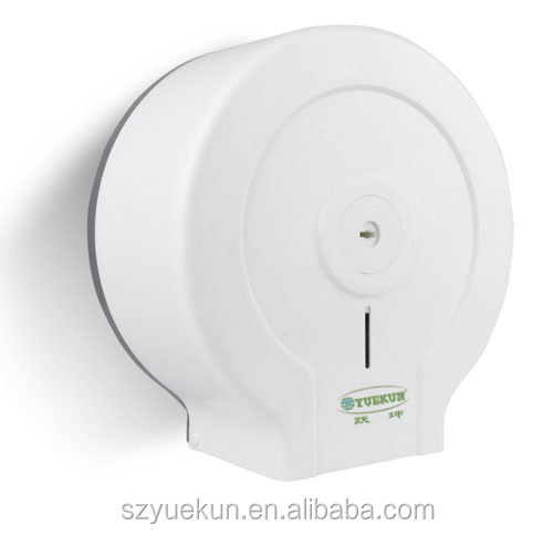 Yuekun factory supply anti-dust toilet hang on wall roll paper hand lockable wall mounted folding paper dispenser YK2085