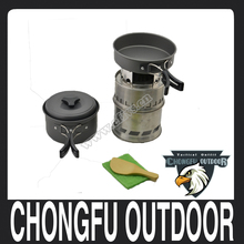 NEW 2016 outdoor hiking and camping pot with black handle
