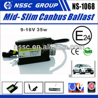 2015 NSSC Super Bright 12V 3500K hid xenon conversion kit with slim ballast factory price