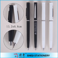 Elegant Twist Ball Pen With Middle Ring(SQ1012)