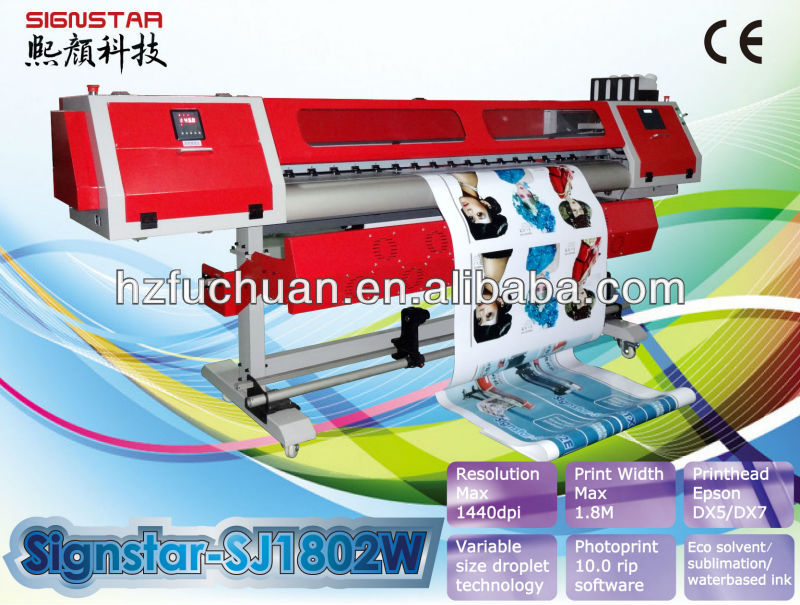 water -based / sublimation transfer printer