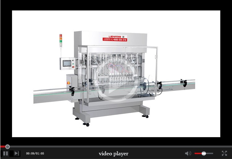 LM-ZXHS  Automatic Straight Line Piston Filling Machine