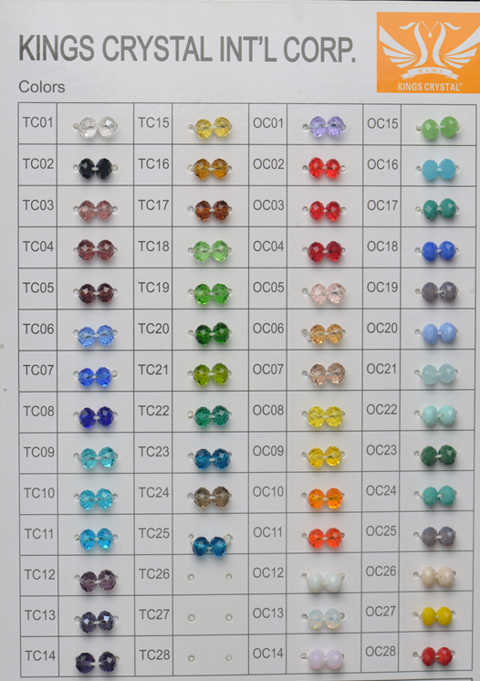 High quality glass beads for jewerly making