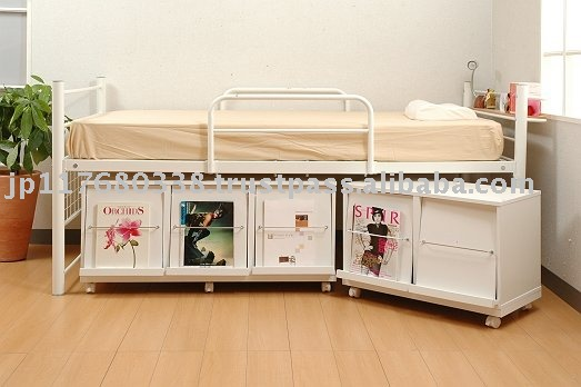 mid height metal bed frame with storage space bib 003 buy mid hight metal bed frame with storage space bib 003metal frame bunk bedsmetal tube bed frame - High Bed Frame