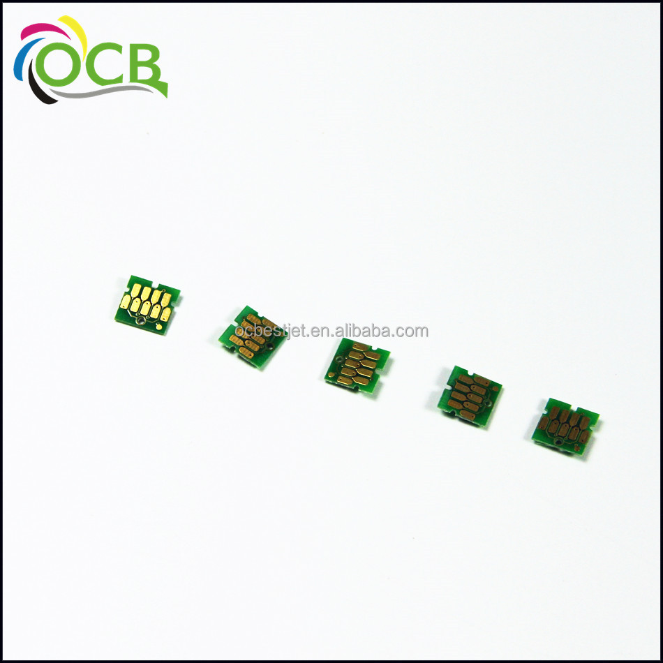 Ocbestjet Cartridge Newest update one time <strong>chip</strong> For Epson T3000 T5000 T7000 waste tank <strong>chip</strong>