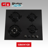 Kitchen newly hobs 4 gas burners free standing gas cooker