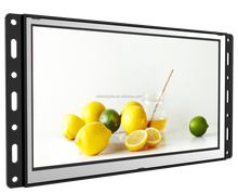 10.1inch elevator metal open frame advertising frames retail store lcd display and pop stands