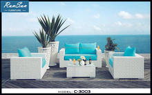 WholeSale Market Factory Garden Sofa Rattan Outdoor Furniture Lounge Set Comfortable