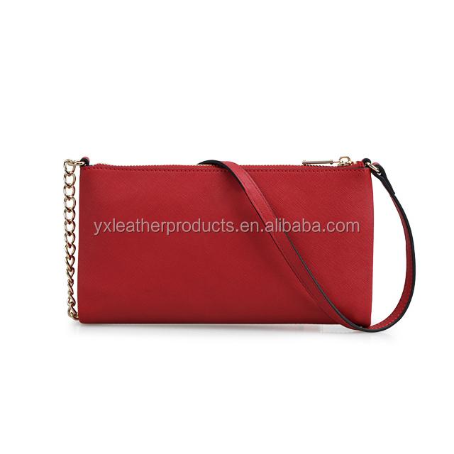 f541127a576 High Quality Lady Genuine Leather Bueno Evening Handbag Italy - Buy ...