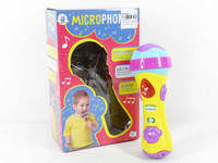 Toys for kids telling story record metaphone microphone toy with light and music, music toys for wholesale, AL019911