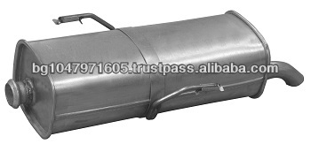 Rear muffler 701660 for PEUGEOT 206 Hatchback