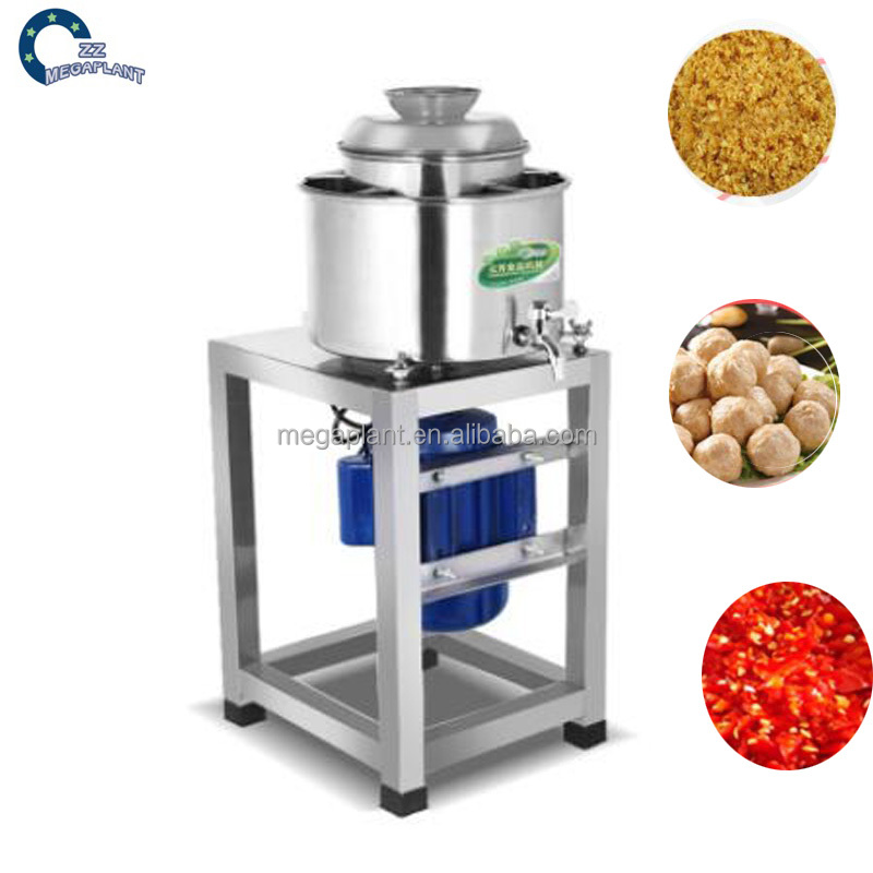 Automatic fish meat grinder mixer beating machine