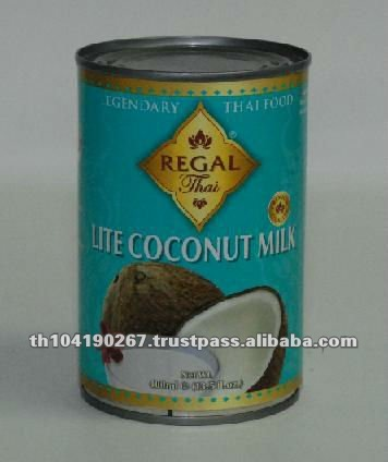 Canned Coconut Milk (400 ml Regal Thai Brand) from Thailand