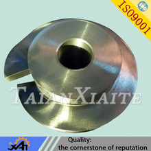 Alloy steel pumps part manufacture price impeller fabrication casting impeller