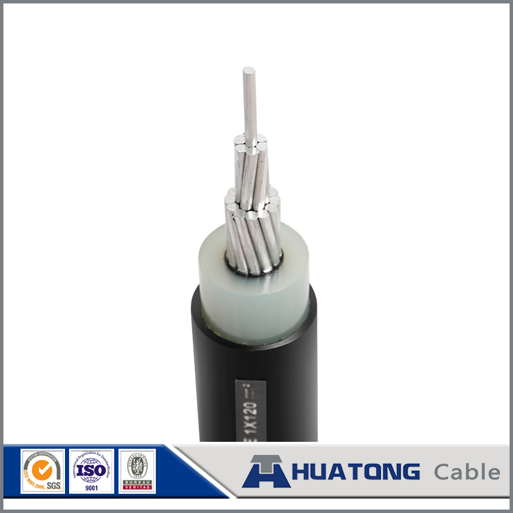Tree wire Cable, Overhead Spacer Cable, 25KV 3 LAYER AAC