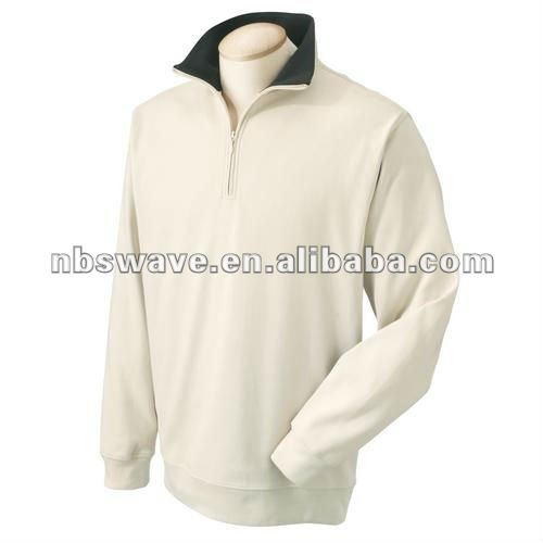 Men's Interlock Quarter-Zip Pima Jacket 11010