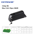 Lithium battery 48v 13.6ah 13s4p battery pack for electric bicycle