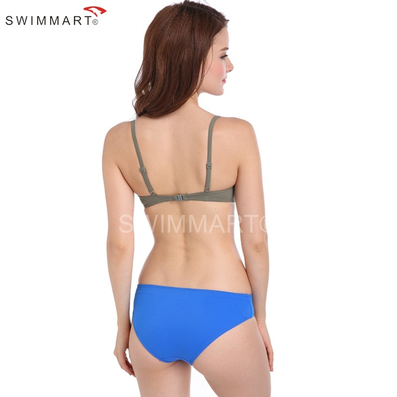 Underwired Double Layer Pad Bikini Push up Two Piece Swimwear Women