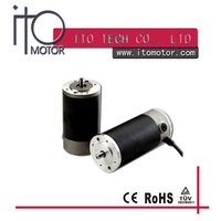 80mm high toruqe rare earth permanent magnet dc servo motor for home appliance