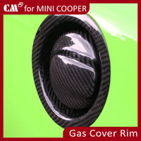 For Mini Cooper R56 Carbon Fiber fuel tank cap cover
