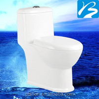 China factory Public custom sanitary ware one piece toilet