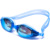 Different degree waterproof mirrored best silicone  swimming goggles