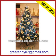 3ft 90cm small battery led spiral lighted fiber optic christmas tree for wholesale