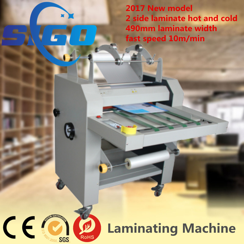 2017 New model roll to roller laminating machine