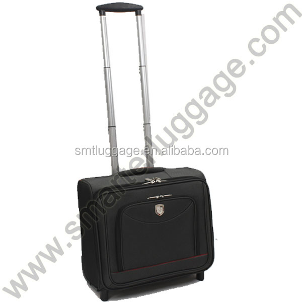 Portable Cabin Size Laptop Luggage Trolley