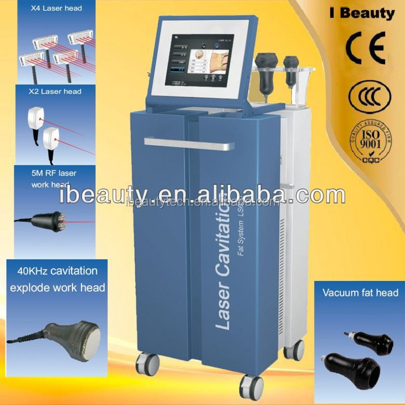 LS650 RF+Lipo Laser+Vaccum+Cavitation hot in Europe