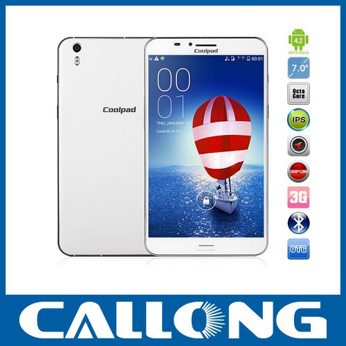 "Cheapest Smartphone 7.0"" IPS 1920*1200 Coolpad 9976A Octa Core cellphone 2GB+8GB 13.0MP Wifi 3G Android mobile tablets Phone"