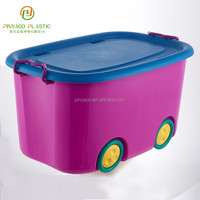 Promotional wholesale any size plastic storage box with lock
