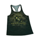 Wholesale camo gym singlet stringer tank top