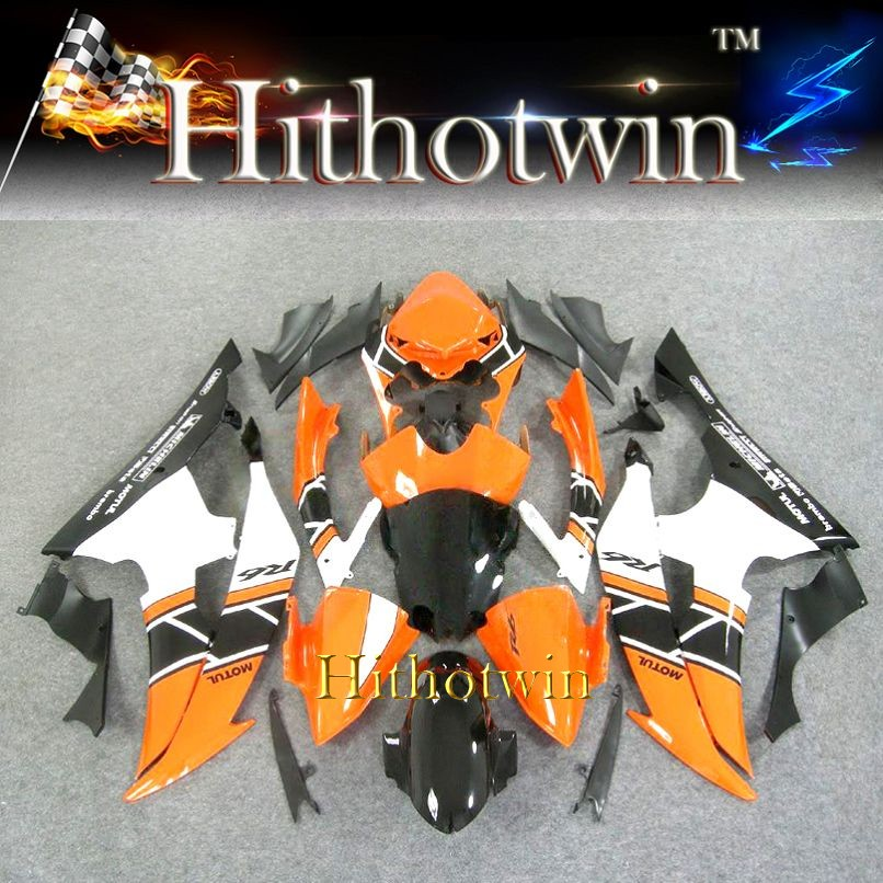 2008 2009 2010 2011 2012 YZFR6 For yamaha Fairing orange YZF R6 2008-2012 10 11 12