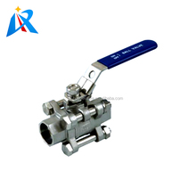 WCB CF8 CF8M SS316L material CE certification pipe flow control good price sus316l ball valve