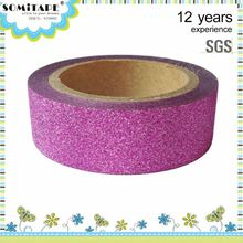 Heat-Resistant All Kinds Of Glitter Tape Decorating And Labeling