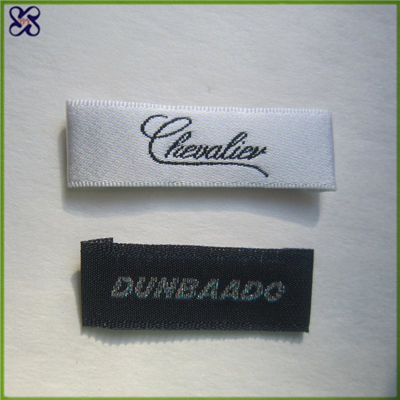 woven labels cheap woven sewing label woven label fabric With cheap fabric labels