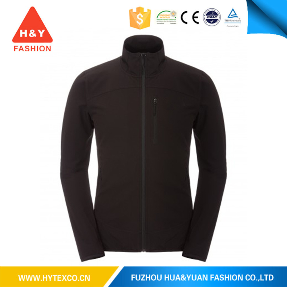top sale uk sportswear double side soft shell jacket for mens winter