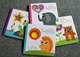 Educational baby learning book study book for preschool children cardboard book