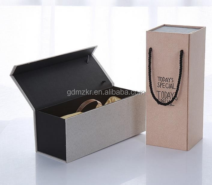 Accept Custom flat packaging box manufacturer for wine