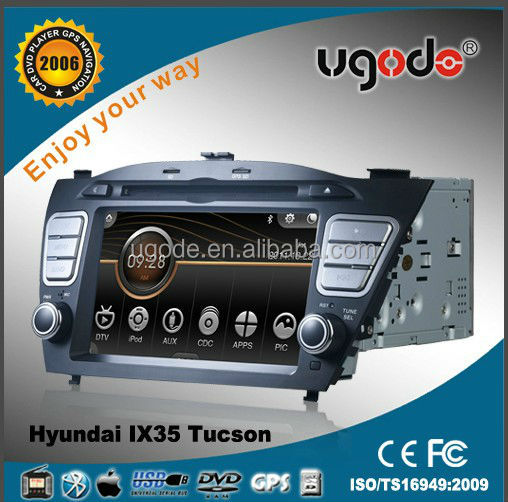 Car Auto Multimedia Player for Hyundai Tucson IX 35(2009-2012) with GPS Radio Bluetooth and Steering Wheel Control