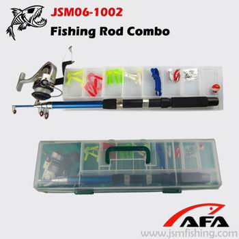 High quality telescopic rod fishing sets