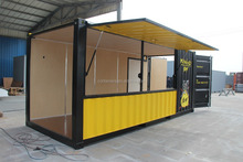prefabricated Beautiful cheap coffee Bar container