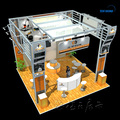 Detian offer custom trade show exhibits exhibition fair stand reusable trade show booth design