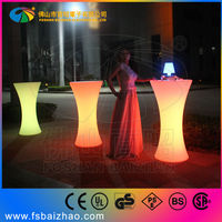 night club party cocktail tables led glowing bar furniture